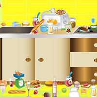 Гра Прибирання: Бардак на кухні!