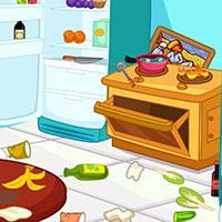 Гра Прибирання на кухні: Всі по місцях!