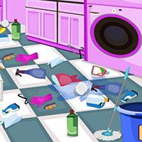 Гра Прибирання в пральні: грай безкоштовно онлайн!