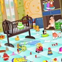 Гра Прибирання в спальні малюка: грай безкоштовно онлайн!