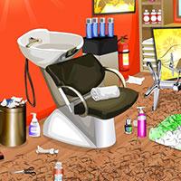 Гра Прибирання в салоні краси: грай безкоштовно онлайн!