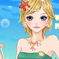 Гра Макіяж морської принцеси