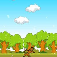 Гра Скубі Ду стрибає по хмарах