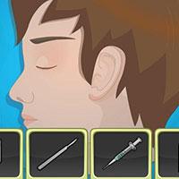 Гра Лікарня: Операція на вусі!