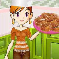 Гра Кухня Сари: Карамельні роли
