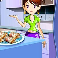 Гра Кухня Сари: Курячі конвертики