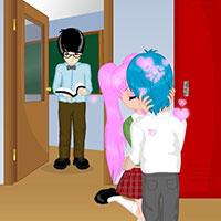 Гра Поцілунки в школі