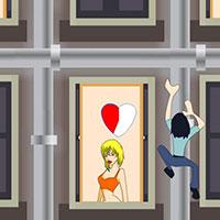Гра Поцілунки через вікно