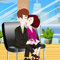 Гра Поцілунки на роботі