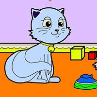 Гра Розмальовка котиків