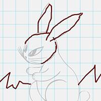 Гра Намалюй зайця!