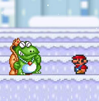 Гра Маріо Взимку