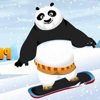 Гра Кунг-фу панда Незграбний сноубордист