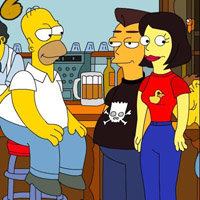 Гра Сімпсони в барі