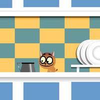 Гра Кіт вісі Кет: Усміхнений Кіт