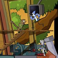 Гра Кіт вісі Кет: Будиночок на дереві
