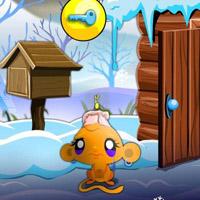 Гра Новий Рік Різдво щасливою мавпочки