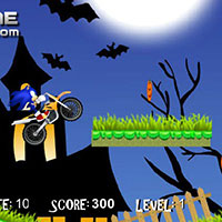 Гра Сонік на мотоциклі в Хеллоуїн