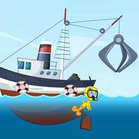 Гра Картун Нетворк: Ципа чистить море