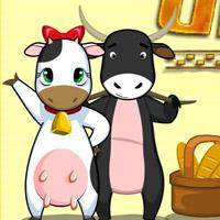Гра Супер корова: Хлібний конкурс