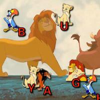 Гра Король Лев: Дотик