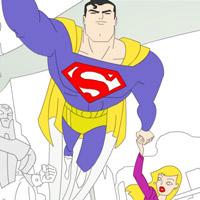 Гра Супермен летить на завдання