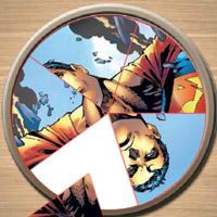 Гра Супермен на круглій тарілці