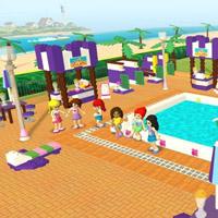 Гра Лего: Вечірка біля басейну