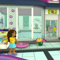 Гра Лего: Салон для вихованців