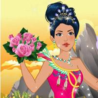 Гра Одягалка: Покахонтас готується до весілля