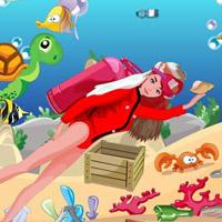 Гра Барбі прибирає морське дно