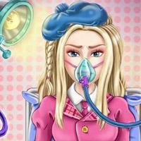 Гра Лікувати Барбі від грипу