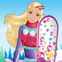 Гра Барбі: Акробатика на сноуборді