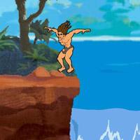 Гра Бродилка Тарзан і Джейн - стрибки в джунглях