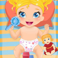 Гра Догляд за малюками: Міняти підгузки малятку Поллі