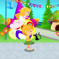 Гра для дівчаток: Ангели проти демонів - дитяче місто