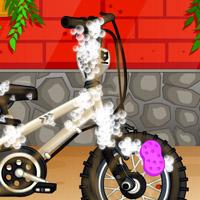Гра Прибирання: Миття дитячого велосипеда