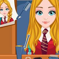 Гра Салон Краси Шкільні зачіски