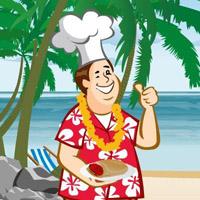 Гра Кулінарія: Приготування Гіроскопів на пляжі