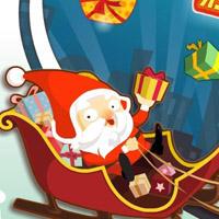 Гра Пригоди: Божевільний Санта гонщик