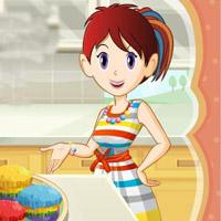 Гра Кухні Сари: Райдужні кекси