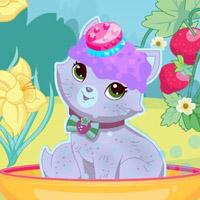 Гра Догляд за тваринами: Полунична кішка