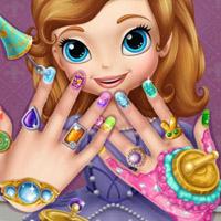 Гра Принцеси: Манікюр для Софії Прекрасної