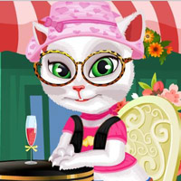 Гра Кішки: Одягалка Анжели