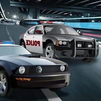 Гра Поліцейська погоня на двох машинах за злочинцями