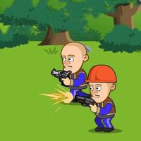 Гра на двох для хлопчиків: Захисти хатинку