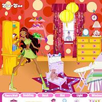 Гра Вінкс в кімнаті Лейли: грай онлайн безкоштовно!