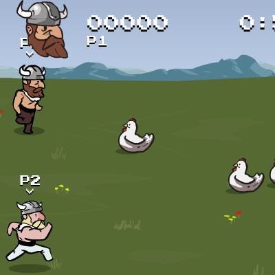 Гра біг вікінгів
