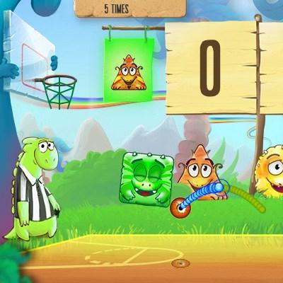 Гра Діно баскетбол