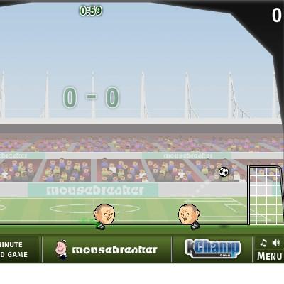 Гра футбол: Удар головою